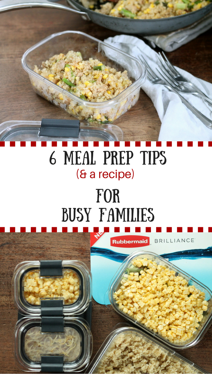 6 meal prep tips for busy families