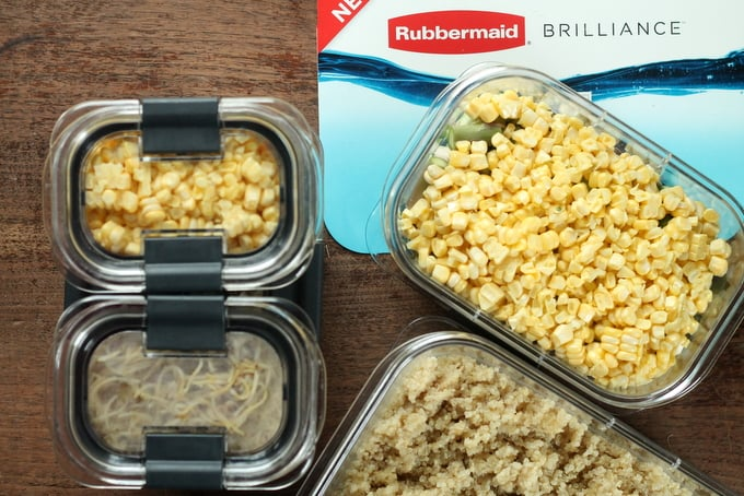 Meal Prep with Rubbermaid BRILLIANCE 3