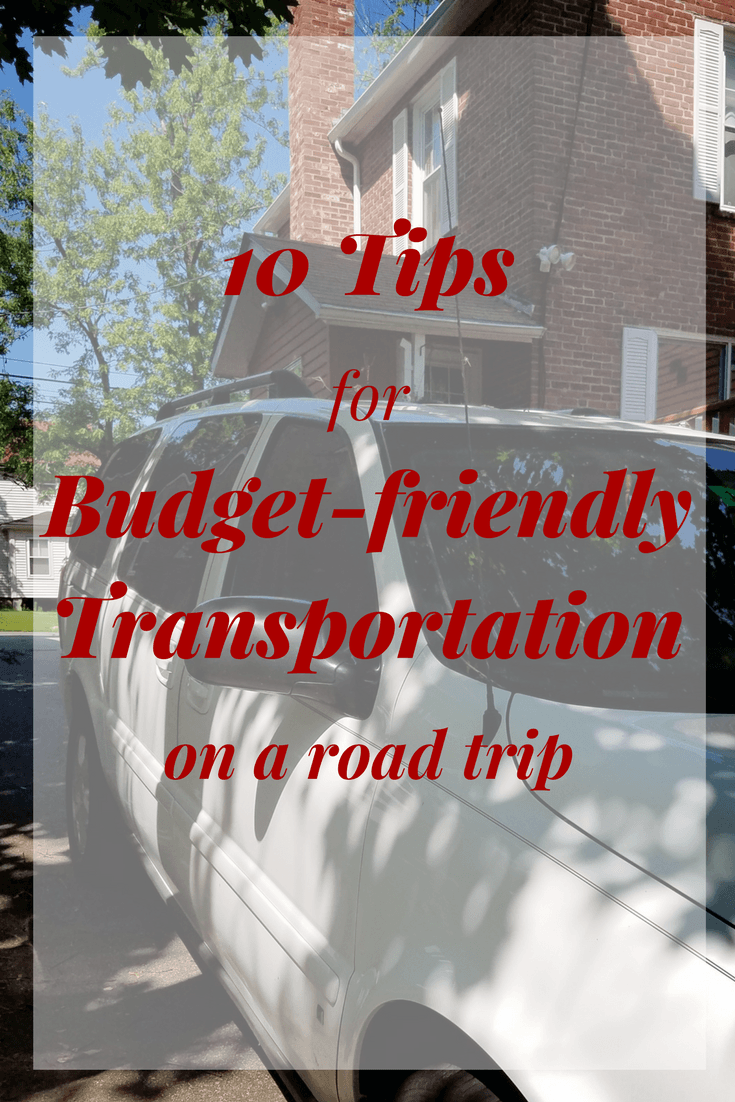 budget friendly family vacation tips, tips for saving money on vacation transportation
