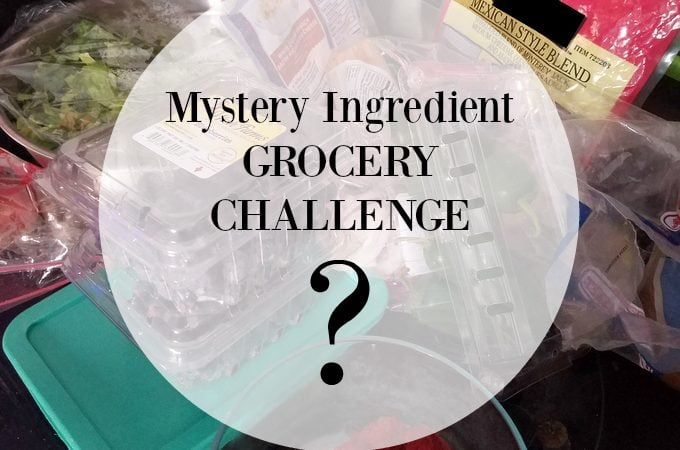 Grocery Challenge 1: Mystery Ingredient