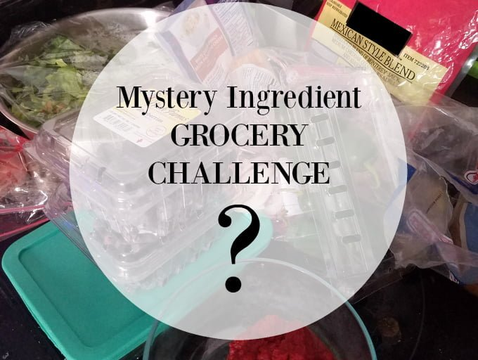 Grocery Challenge Mystery Ingredient