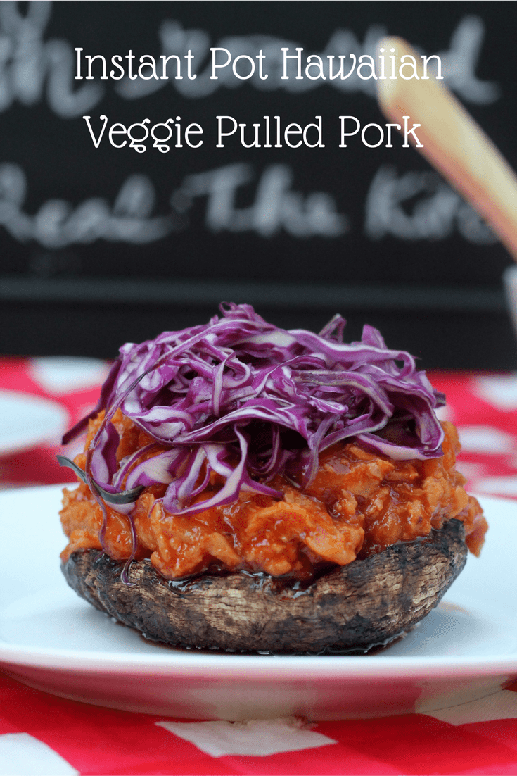 Hawaiian Veggie Pulled Pork perfect vegetarian recipe option that can be made in the Instant Pot or on stove top. Made with MorningStar Farms® Veggie Pulled Pork.