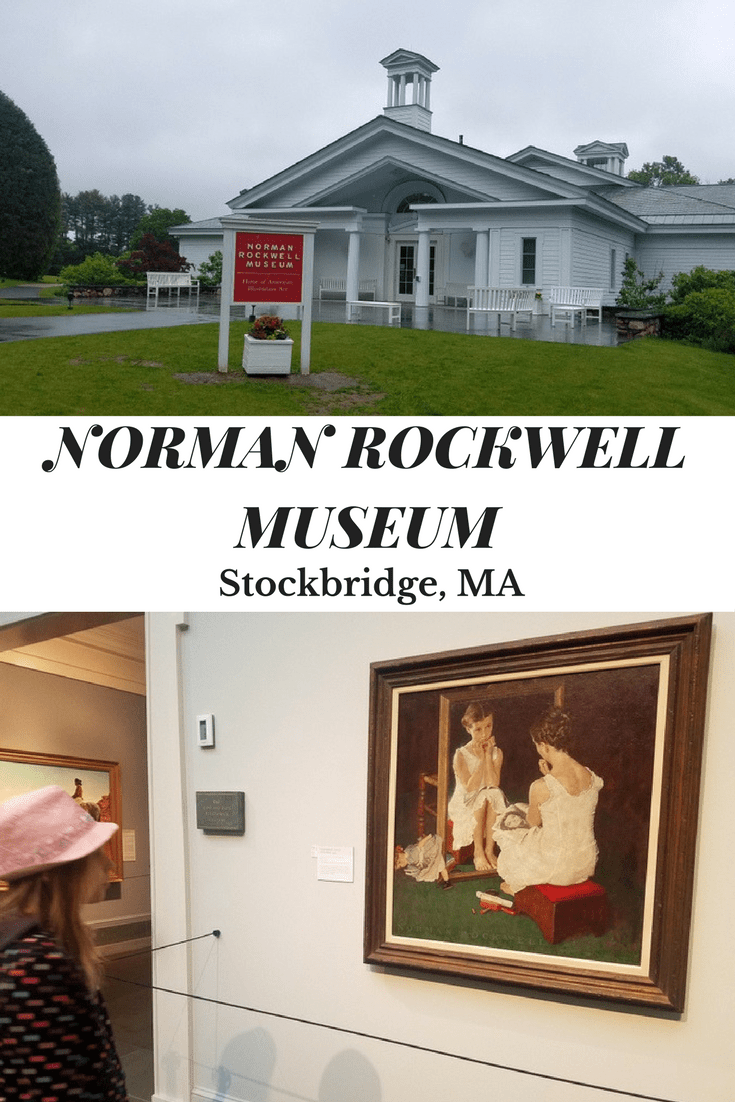 Stockbridge, Massachusetts is a great family vacation destination and The Norman Rockwell Museum is a great place for people of all ages to visit with artwork, a creativity center for kids, and outdoor space to walk and kids to run off some energy.