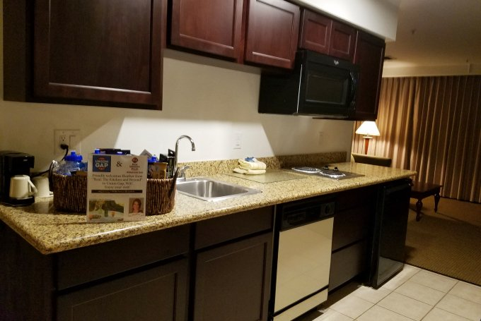 Best Western Union Gap WA Suite Kitchenette