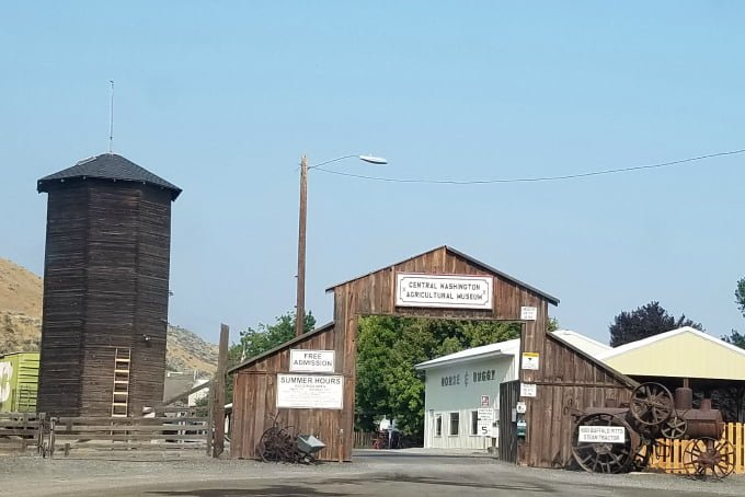 Central Washington Agricultural Museum entrance