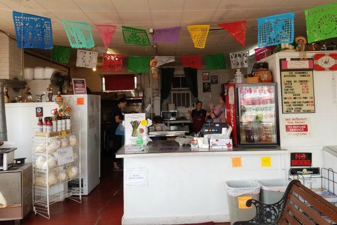 Los Hernández Tamales Union Gap WA Interior