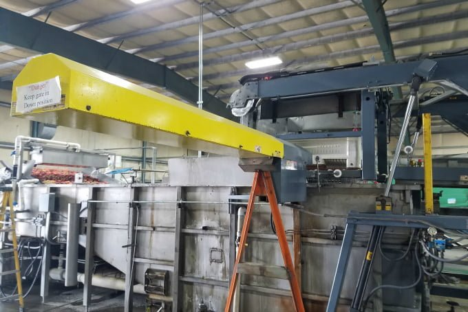 WA State Stone Fruit Growers Peach Washer