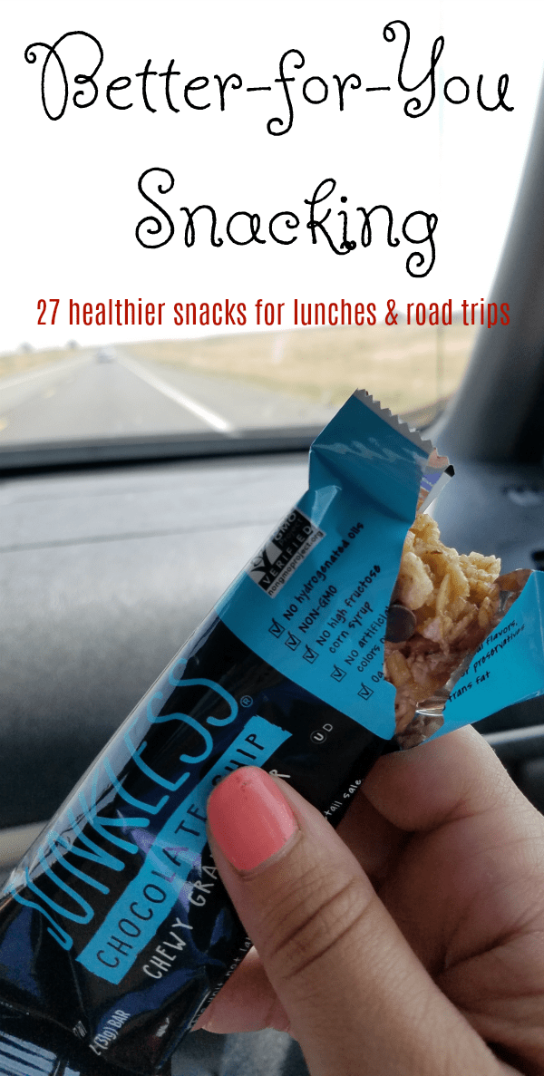 Road Trip Snacks: Simply Eight JUNKLESS Granola Bars + 26 More Snack ...