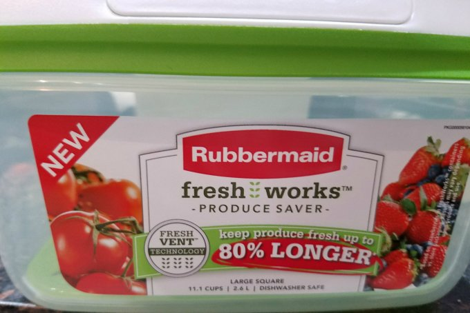 Rubbermaid FreshWorks Produce Saver 80 longer