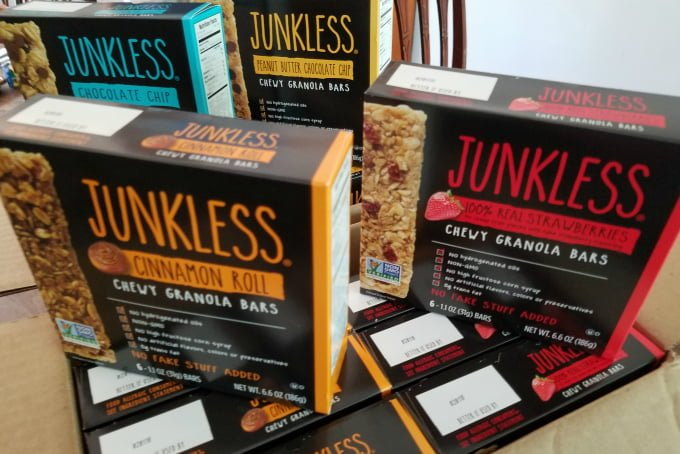 Simply Eight Junkless Granola Bars