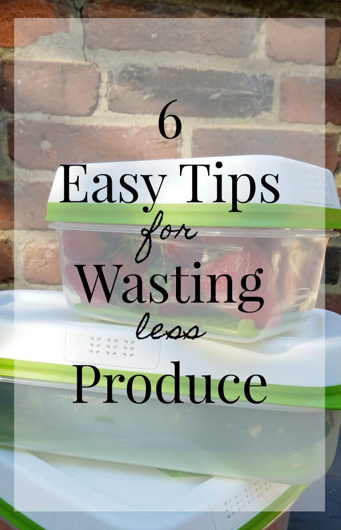 easy tips for wasting less produce