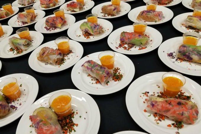 Fresh Summit Sensory Experience Good Foods Summer Rolls