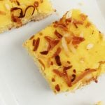 gluten free Pina Colada Bar recipe