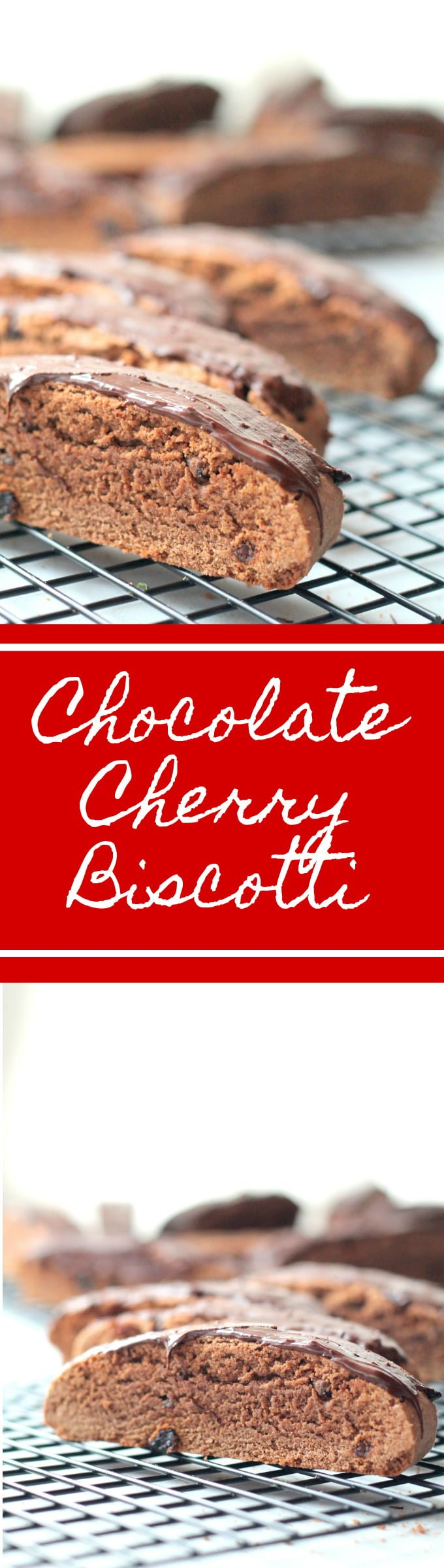 Chocolate Cherry Biscotti - Real: The Kitchen and Beyond