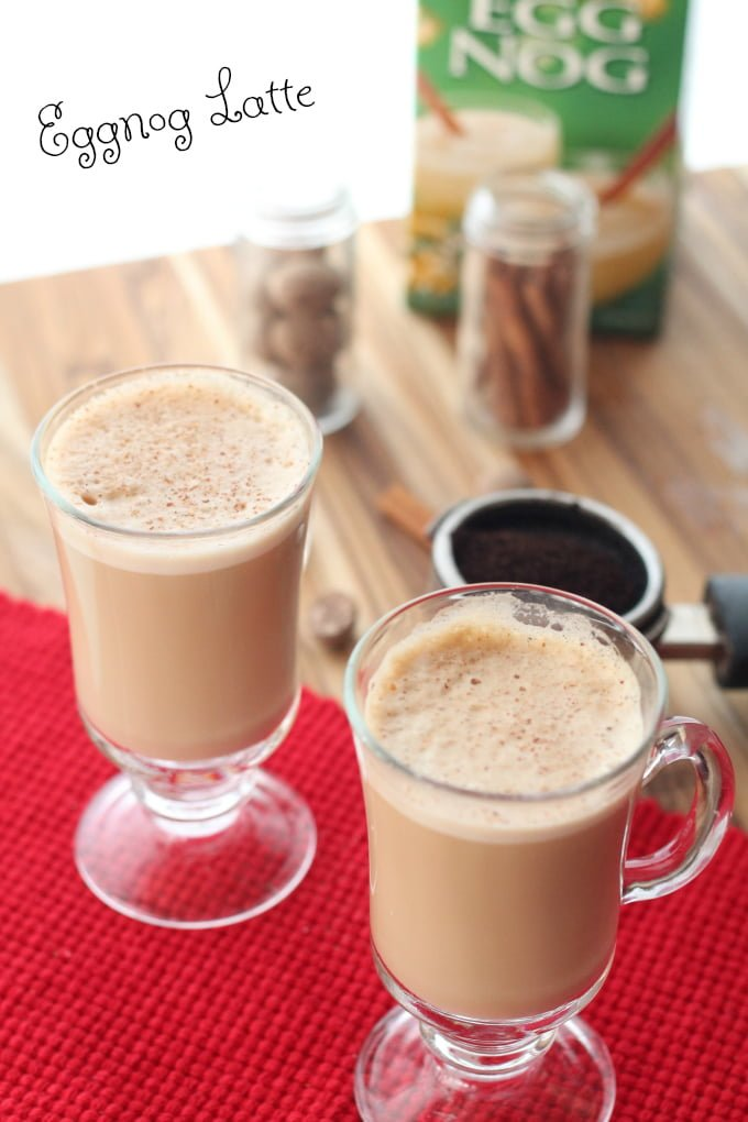 Easy Eggnog Latte Recipe
