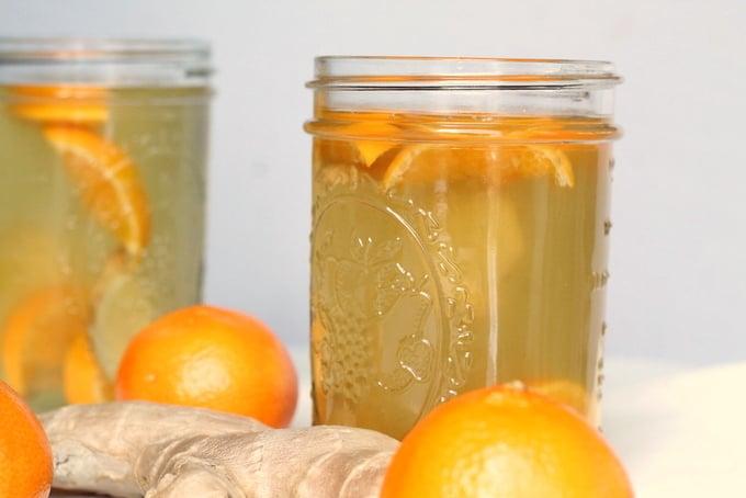 Mandarin Ginger Green Tea Soother