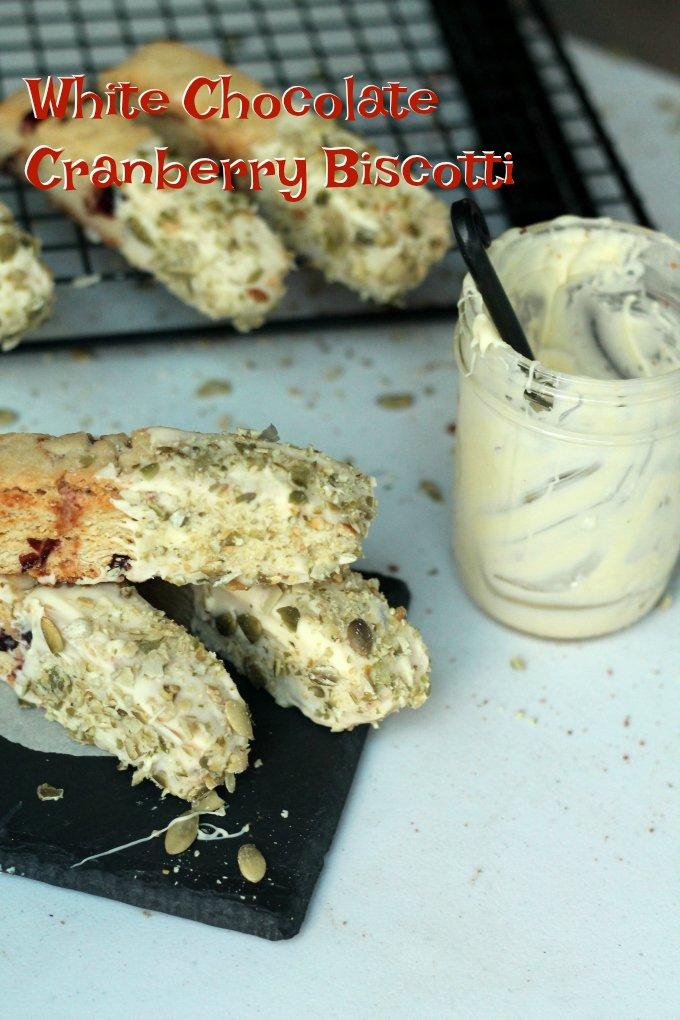 White Chocolate Cranberry Biscotti Recipe