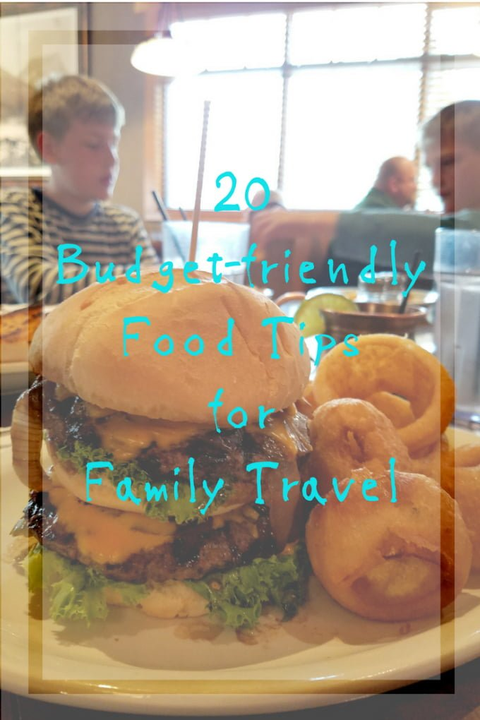 20 budget-friendly food tips for family road trips