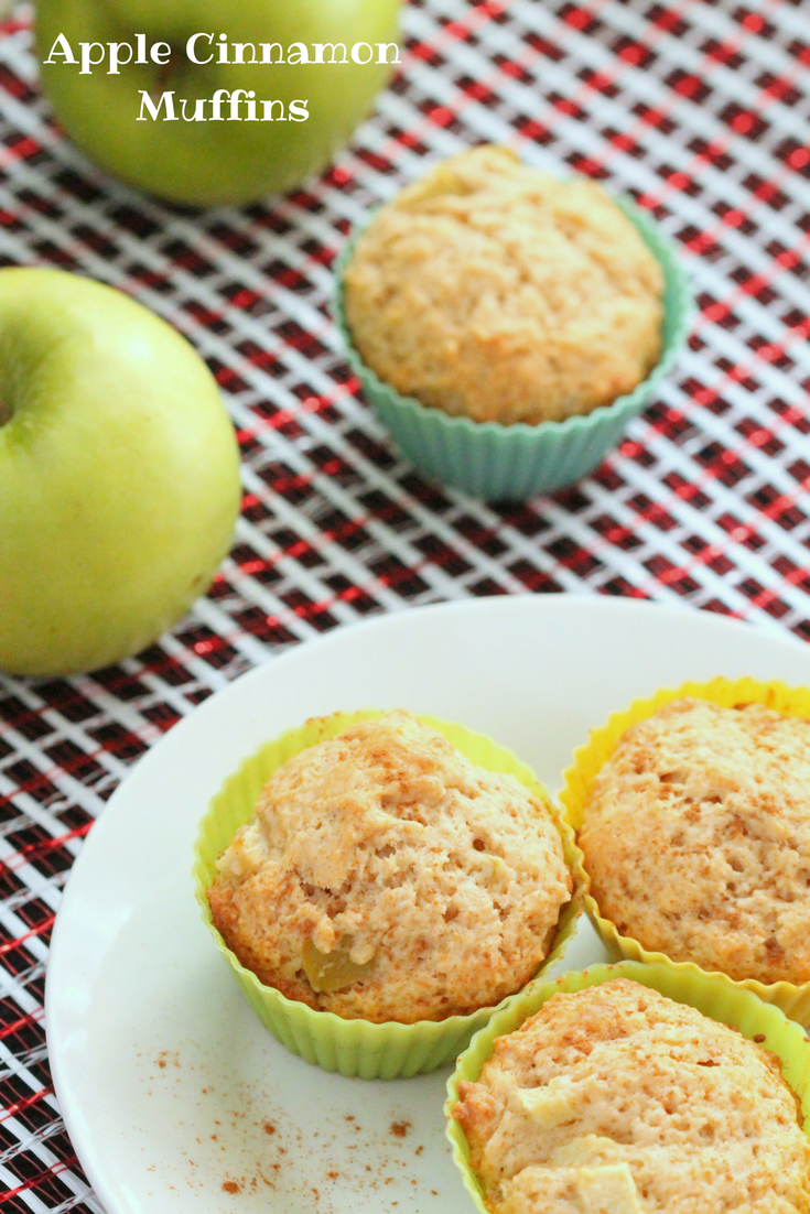 This apple cinnamon muffin recipe is an easy on-the-go breakfast you can make ahead and freeze. Plus the whole family will love them.
