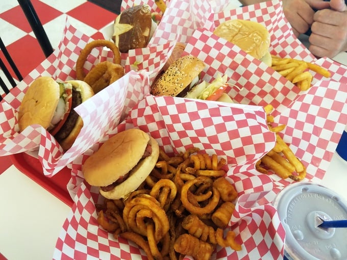 20 budget-friendly food tips for family road trips NH to WA Pepp'rmint Stick Drive-in