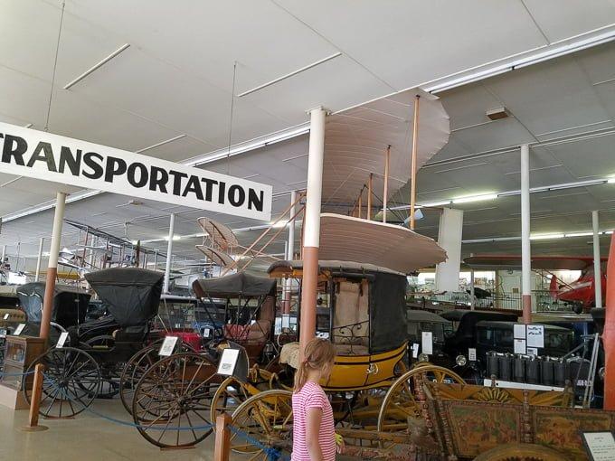 Pioneer Village Minden NE Transportation
