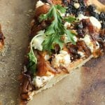 Fig Caramelized Onion Goat Cheese Pizza 3
