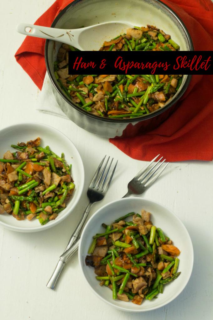 Ham & Asparagus Skillet Recipe