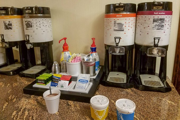 Hampton Inn Beverage Bar