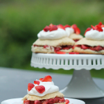 Honey Roasted Strawberry Rhubarb Shortcake Recipe