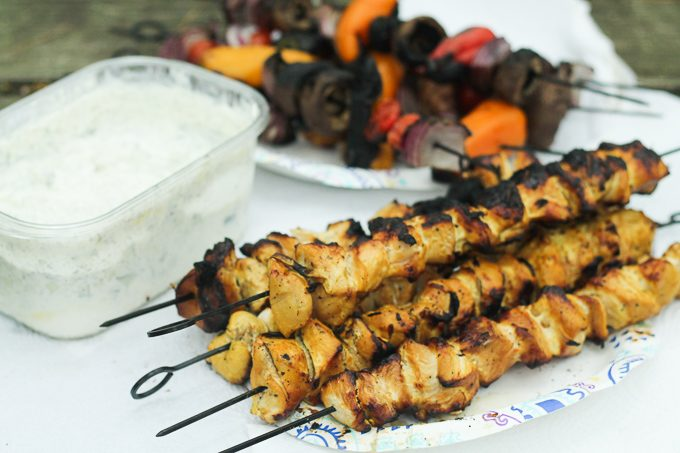 Persian Chicken and Vegetable Kebabs (and More Great Camping Recipes)