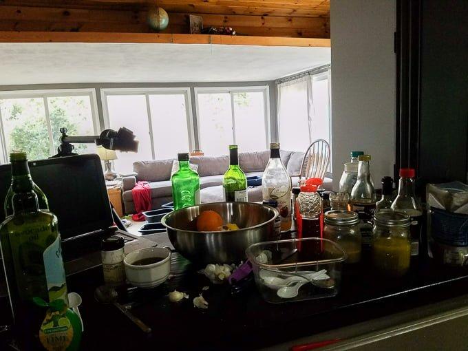Prepping Homemade Marinades