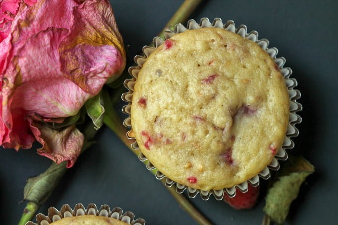 Raspberry Rosewater Muffin Recipe