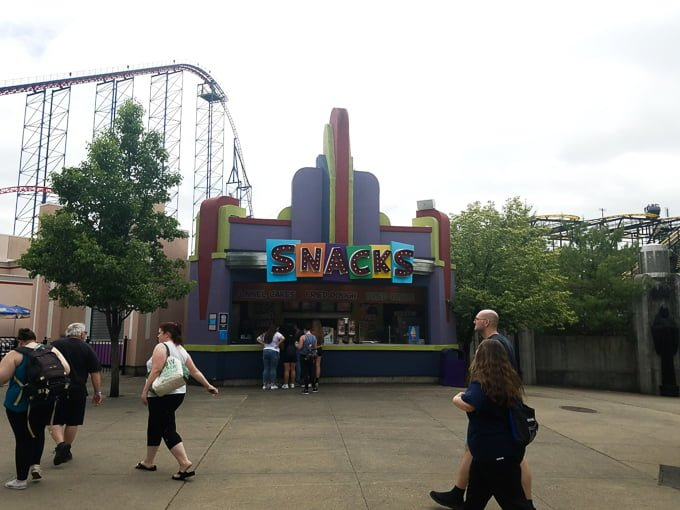 family fun at six flags new england real the kitchen. Black Bedroom Furniture Sets. Home Design Ideas