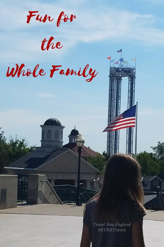 On a family road trip or vacation in New England? Make sure you include a aday of fun at Six Flags New England - things to do in Massachusetts.