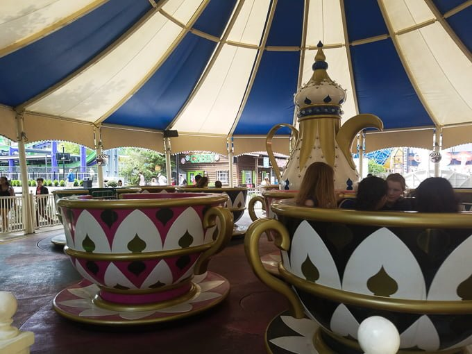 Six Flags New England Tea Cups