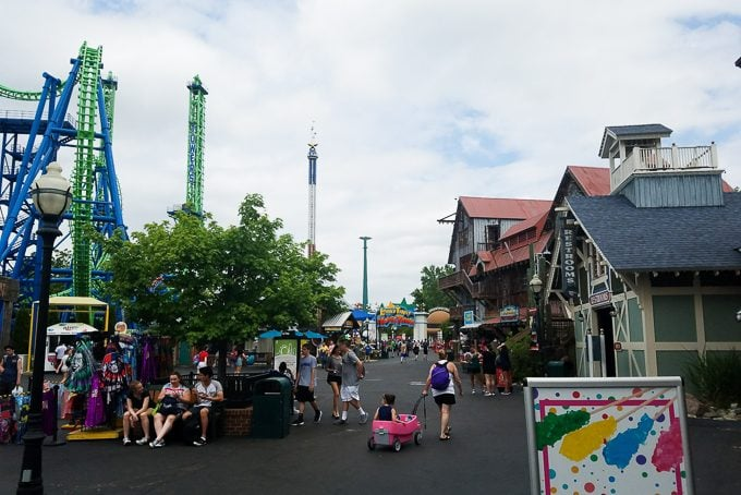 Family Fun at Six Flags New England