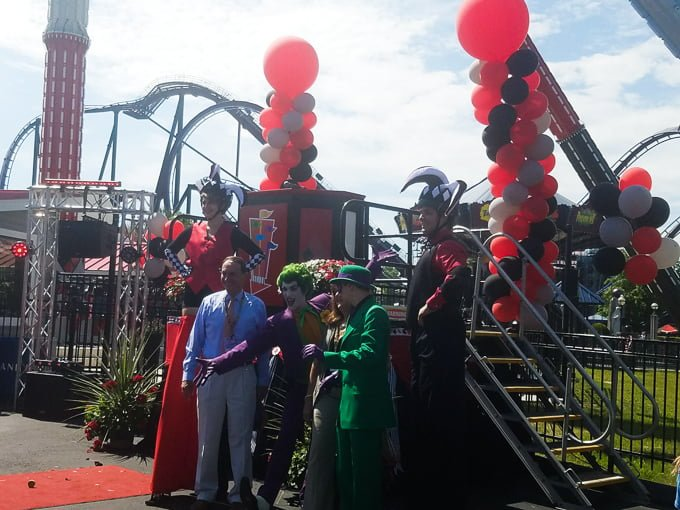 Six Flags New England Batman Characters