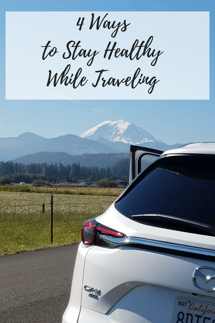 Getting sick while traveling is miserable, especially if you are on family vacation or a work trip. Check out my top 4 tips for staying healthy while traveling.