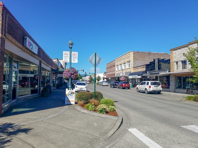 Downtown Cole Street Enumclaw Washington