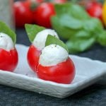 Caprese Bites Stuffed Tomato Recipe