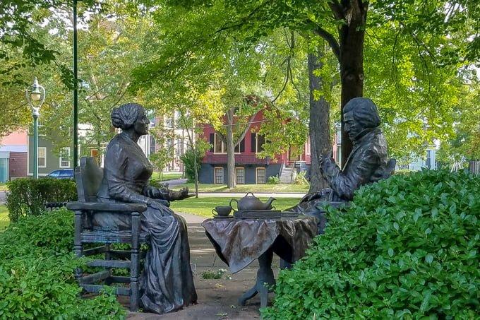 Susan B Anthony Frederick Douglas