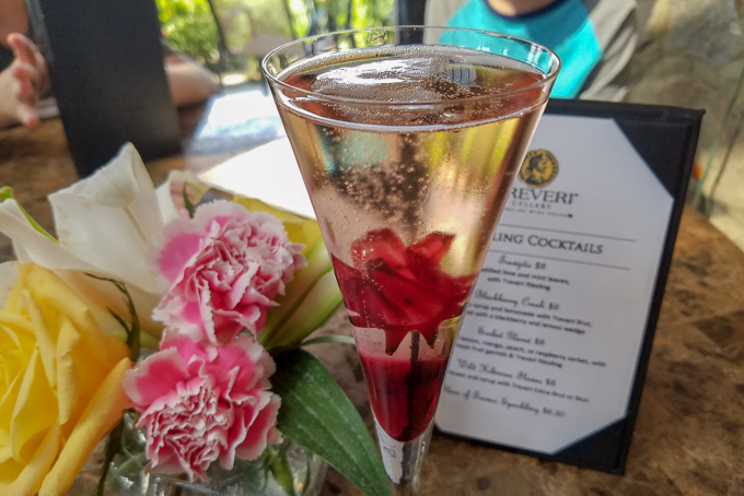 Treveri Cellars Sparkling Wine Cocktail