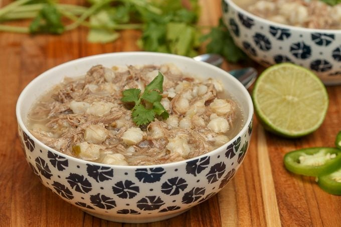 Instant Pot Pork Posole