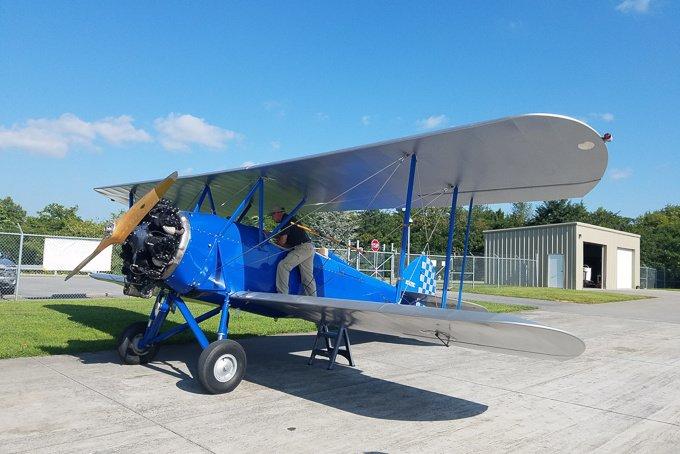 Sky High Air Tours WACO Biplane