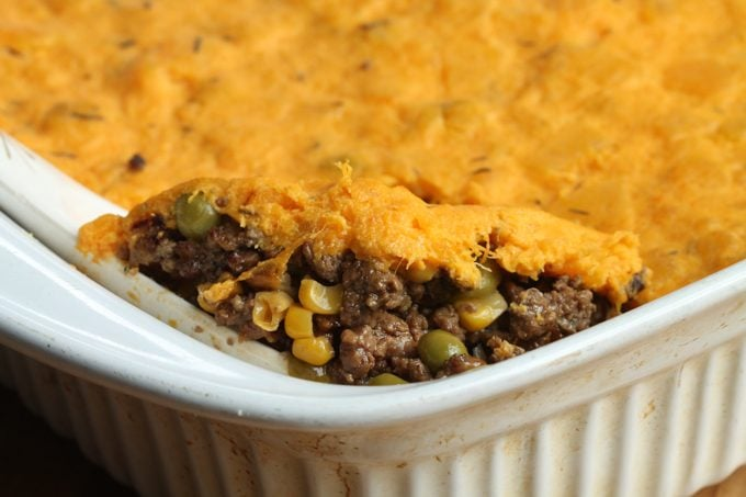 Butternut Squash and Thyme Shepherd's Pie