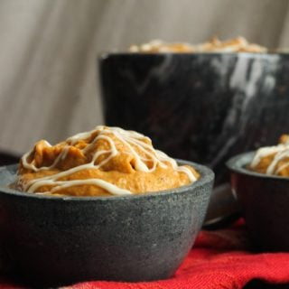 White Chocolate Pumpkin Mousse Recipe