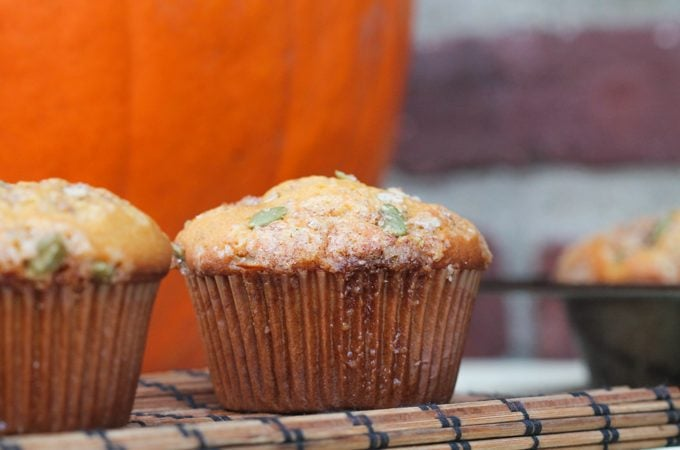 Copycat Pumpkin Cream Cheese Muffins