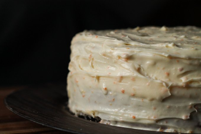 Orange Cream Cheese Frosting Cake